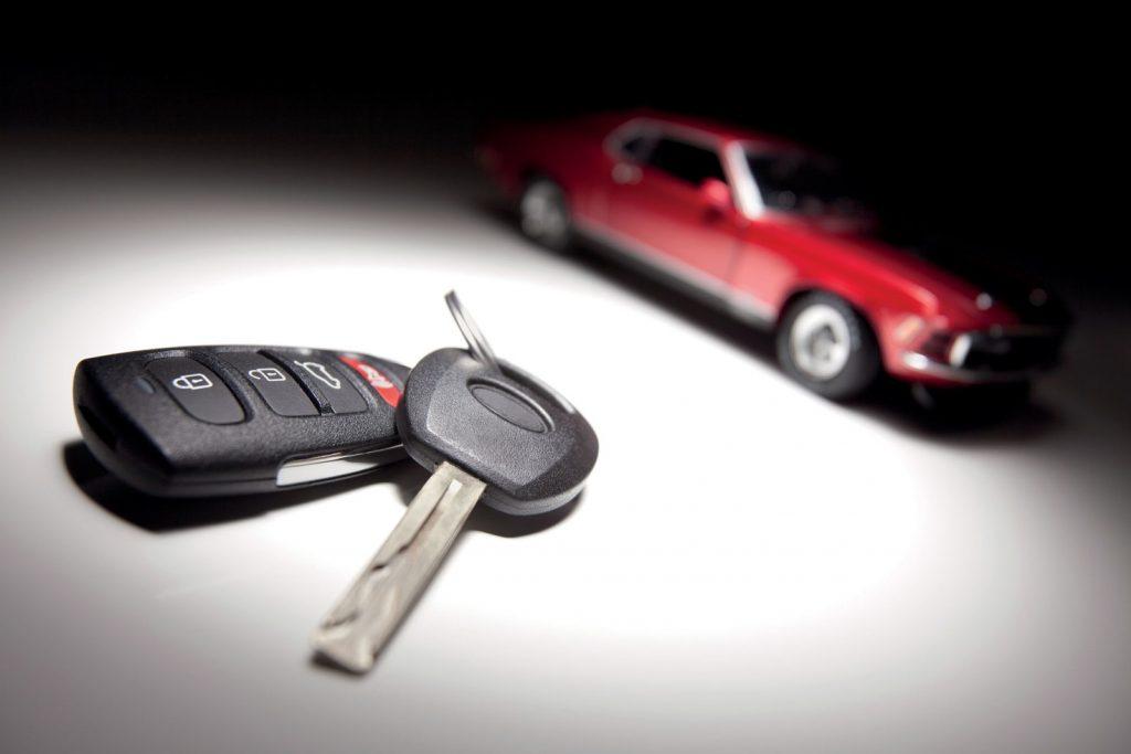 กุญแจรีโมทรถยนต์